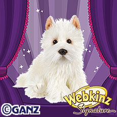 Signature West Highland Terrier | WKN: Webkinz Newz